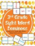 3rd Grade Sight Words Dominoes
