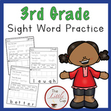 3rd Grade Sight Words Practice Worksheets