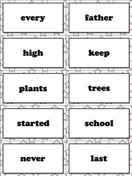 3rd Grade Sight Word List #3 - Third 100 High Frequency Words - Word Study