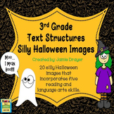 3rd Grade Silly Halloween Images Activity: Reading and Lan