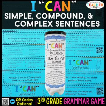 3rd Grade Types of Sentences | Simple, Compound, & Complex Sentences