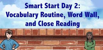 3rd Grade Smart Start Day 2