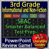3rd Grade Smarter Balanced Test Prep SBAC Informational Text Reading Game CAASPP