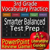 3rd Grade Smarter Balanced Test Prep SBAC Reading Vocabulary Game CAASPP