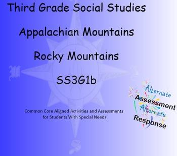 3rd Grade Social Studies Appalachian Rocky Mountains Smart