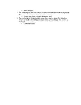 3rd Grade Social Studies BINGO Questions