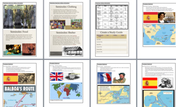 UPDATED 2018 GSE 3rd Grade Social Studies Study/Teaching Guide