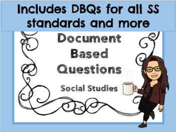 3rd Grade Social Studies Document Based Questions