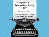 3rd Grade Social Studies---Economics Everyday Vocabulary