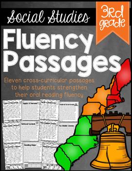 3rd Grade Social Studies Fluency Passages