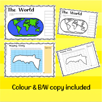 3rd Grade Social Studies/ Geography Worksheets by Middle ...
