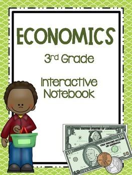 3rd Grade Social Studies Notebook: Economics
