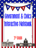 3rd Grade Social Studies Notebook: Government & Civics