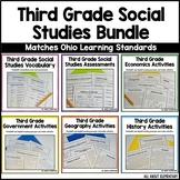 Third Grade Social Studies Bundle
