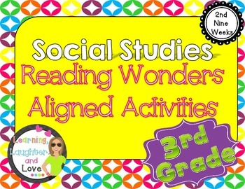 3rd Grade Social Studies Reading Wonders Aligned Activitie