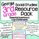 3rd Grade Social Studies Resource Pack - Georgia