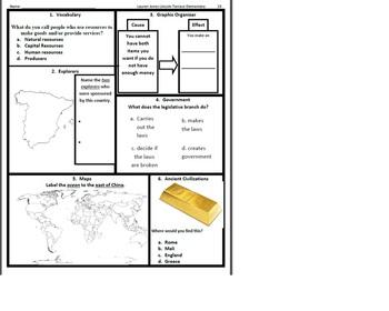 3rd Grade Social Studies SOL Spiral Review #19