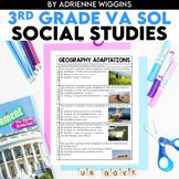 3rd Grade Social Studies VA SOL Study Guides