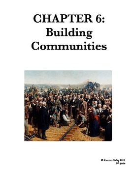 3rd Grade Social Studies Study Guide--Building Communities