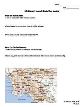 3rd Grade Social Studies Study Guide California Geography
