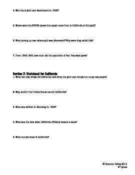 3rd Grade Social Studies Study Guide--How Communities Began