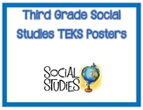 3rd Grade Social Studies TEKS I Can Posters
