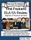 Text Features: 3rd Grade ELA/Social Studies Review