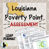 3rd Grade Louisiana History Unit 2 Poverty Point Indians Test   Social Studies