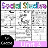 3rd Grade - Social Studies - Unit 3 - Culture, Inventors, Heroes, Writers, Art