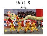 3rd Grade Social Studies Vocabulary Cards: Unit 3-ASIA