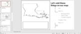 3rd Grade Social Studies week 1 ONLINE interactive notebook (Louisiana)