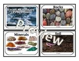 3rd Grade South Carolina Concept Board: Earth's Materials
