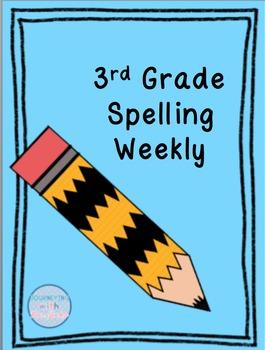3rd Grade Spelling - 35 Weeks!