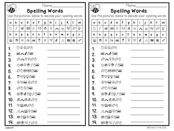 3rd Grade Spelling Assessments and Word Lists EDITABLE {year-long bundle}