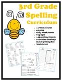 3rd Grade Spelling Curriculum (12 week course)