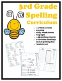 3rd Grade Spelling Curriculum FREE SAMPLE