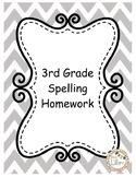 3rd Grade Spelling Lists