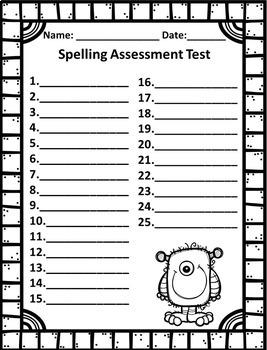 3rd Grade Spelling Program - 35 Weeks of Differentiated Developmental Lists