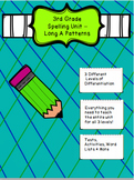 3rd/4th Grade Spelling Unit Long A Patterns 3 Different Le