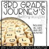 3rd Grade Spelling Words and Activities for Journey's