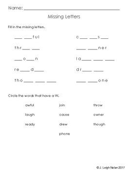 3rd Grade Spelling - Worksheets