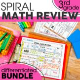 3rd Grade Math Review  | 3rd Grade Homework | Distance Learning