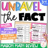 3rd Grade Math Spiral Review MARCH 3rd Grade Math Worksheets Reveals Fun Facts