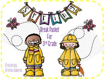 3rd Grade Spring Break Review