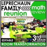 3rd Grade Math Review - St. Patrick's Day Classroom Transformation