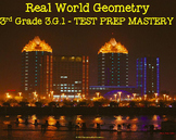 3rd Grade 3.G.1 Real World Geometry TEST PREP MASTERY