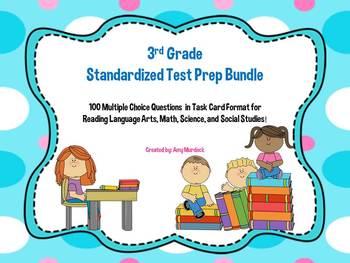 3rd Grade Standardized Test Prep (Reading, Math, Science,