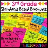 3rd Grade Standards Based Brochure Trifolds-Growing Bundle