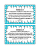 3rd Grade Standards Cards for Math (Georgia Common Core)