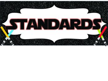 3rd Grade Star Wars Standards COMMON CORE